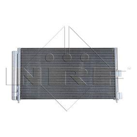 Condenser, air conditioning 35500 PUNTO (188) 1.2 16V 80 MY 2004