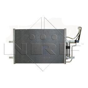 Condensador MAZDA 3 (BK) 1.4 de Año 10.2003 84 CV: Condensador, aire acondicionado (35508) para de NRF
