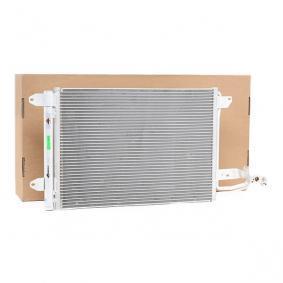 Kondensator, Klimaanlage Kältemittel: R 134a mit OEM-Nummer 1K0 820 411 AC