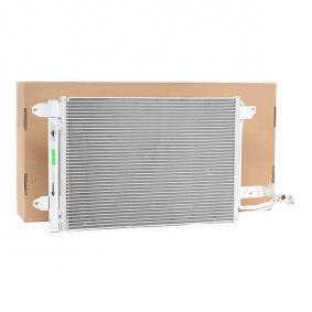Kondensator, Klimaanlage Kältemittel: R 134a mit OEM-Nummer 1K0 820 411 B
