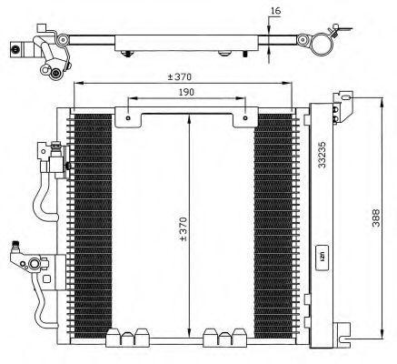 Klimakondensator 35598 NRF 35598 in Original Qualität