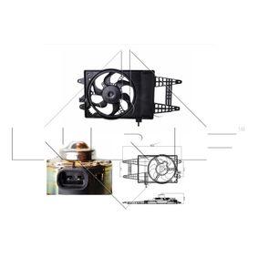 Fan, radiator 47243 PUNTO (188) 1.2 16V 80 MY 2002
