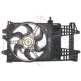Fan, radiator 47245 PUNTO (188) 1.2 16V 80 MY 2002