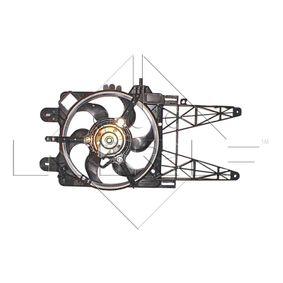 Fan, radiator 47246 PUNTO (188) 1.2 16V 80 MY 2002