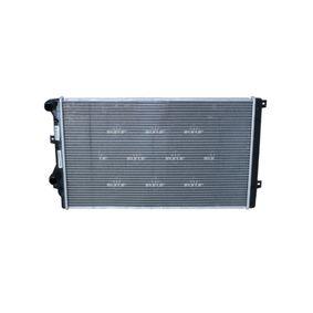 Радиатор, охлаждане на двигателя 53406 Golf 5 (1K1) 1.9 TDI Г.П. 2008