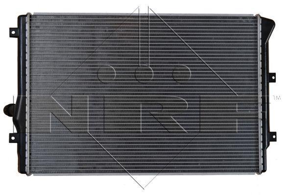 Radiador del motor NRF 53425 8718042036865