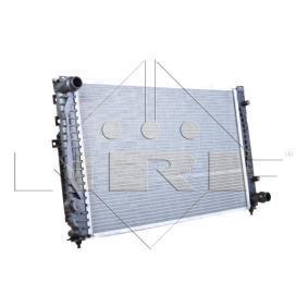 NRF Kühler, Motorkühlung 539504 für AUDI A6 (4B2, C5) 2.4 ab Baujahr 07.1998, 136 PS