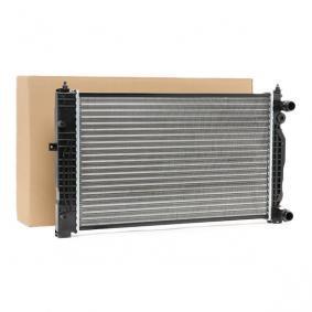 Wasserkühler VW PASSAT Variant (3B6) 1.9 TDI 130 PS ab 11.2000 NRF Kühler, Motorkühlung (58259) für