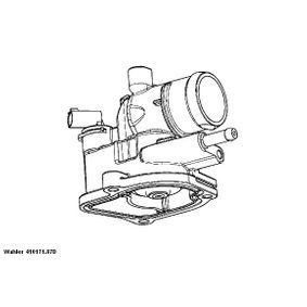 WAHLER  410171.87D Термостат, охладителна течност