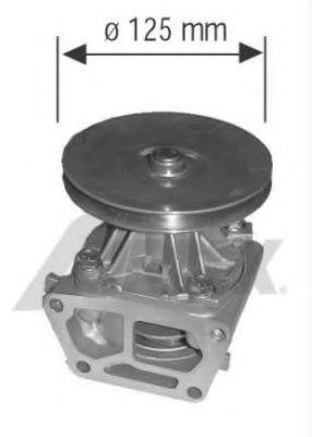 Kühlmittelpumpe 1317 AIRTEX 1317 in Original Qualität