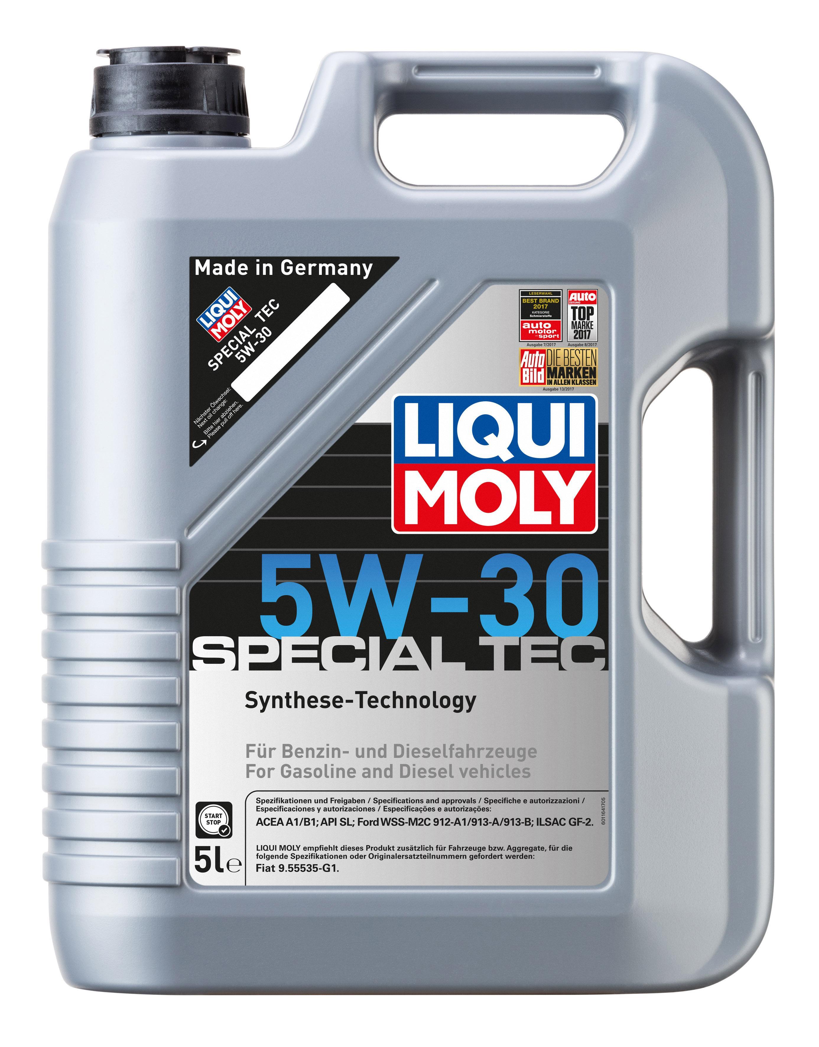 ol 1164 LIQUI MOLY SpecialTec5W30 in Original Qualität