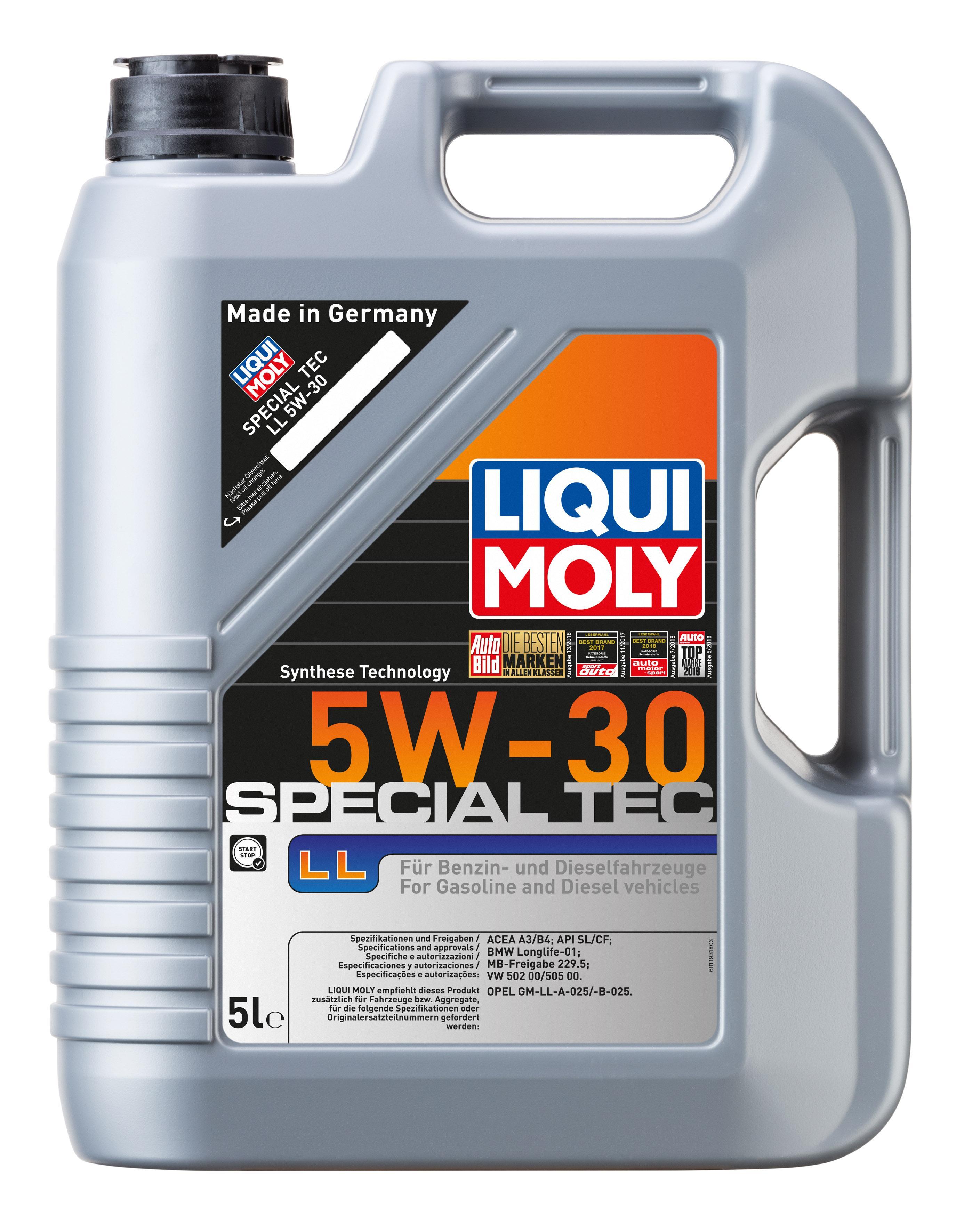 Motoröl LIQUI MOLY OpelGMLLA025 Erfahrung