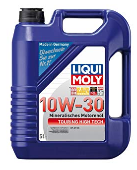 Motorový olej 1272 LIQUI MOLY TouringHighTech10W30 originální kvality