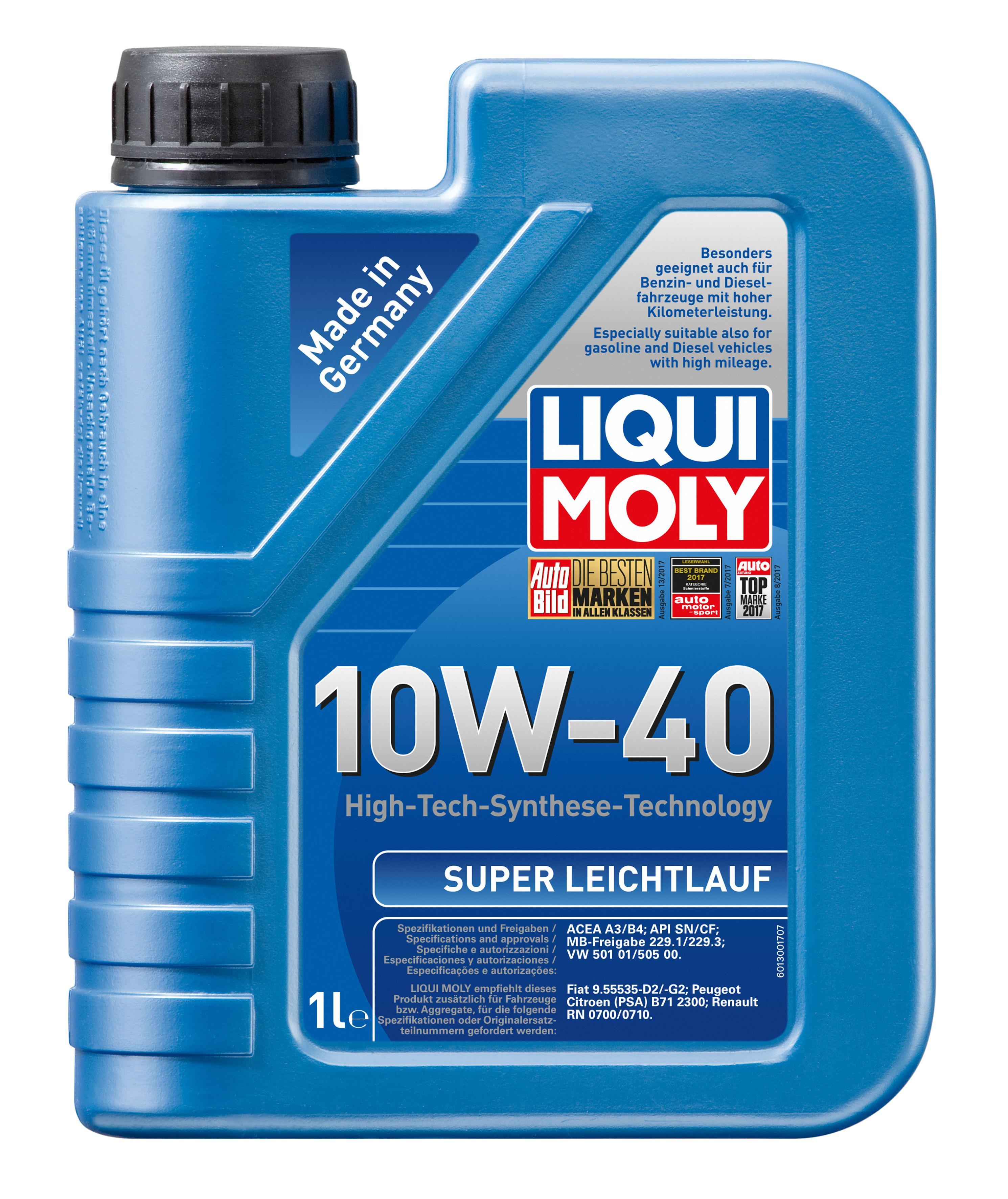 ol 1300 LIQUI MOLY SuperLeichtlauf10W40 in Original Qualität