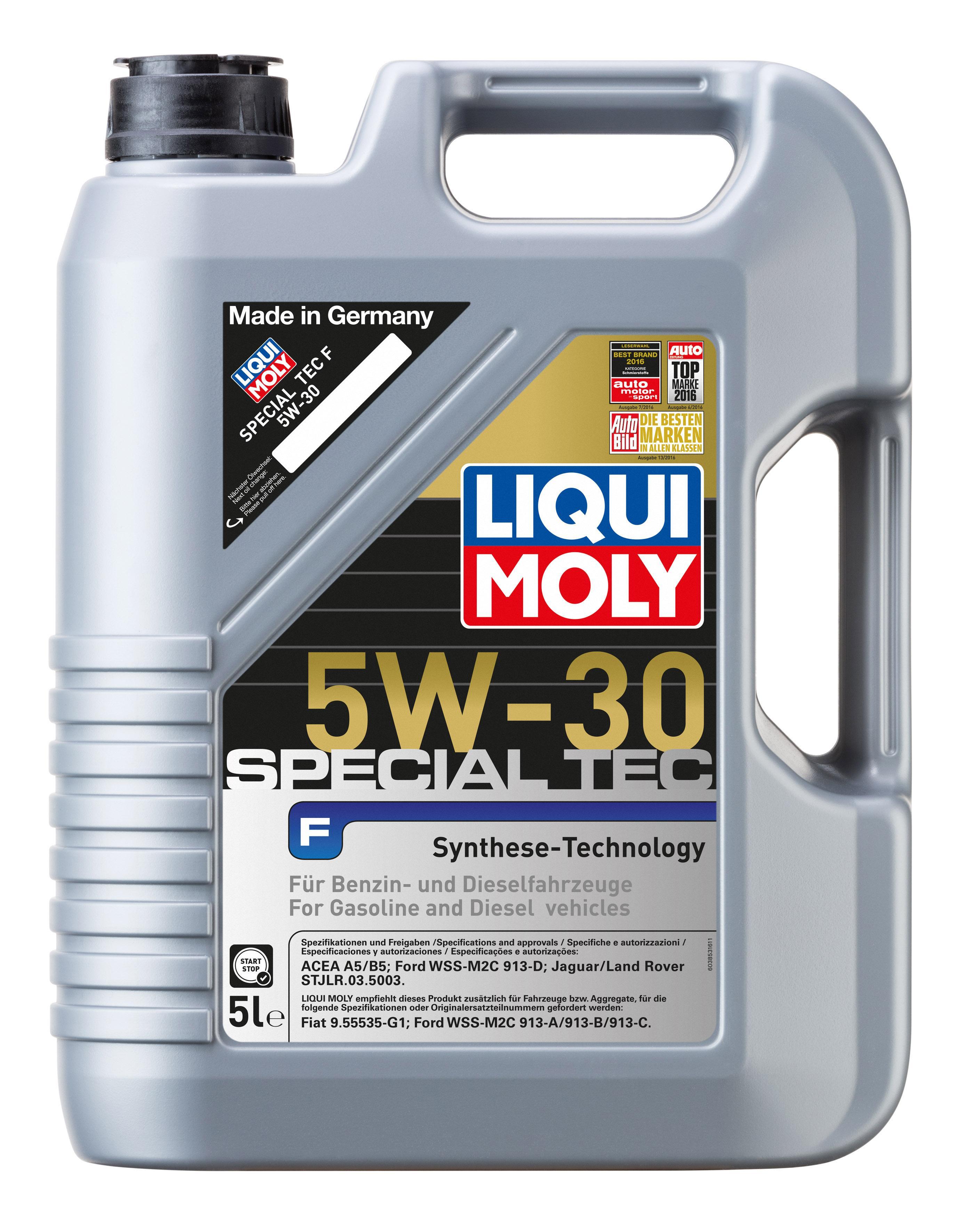 Motoröl 3853 LIQUI MOLY SpecialTecF5W30 in Original Qualität