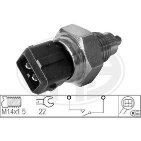 Interruptor y Regulador CITROËN XANTIA (X1) 2.0 i 16V de Año 06.1994 150 CV: Interruptor, piloto de marcha atrás (330251) para de ERA