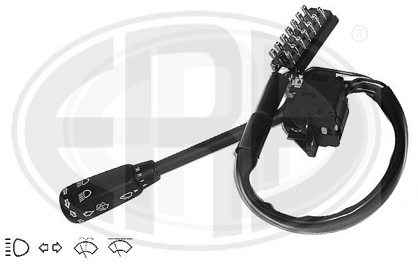 ERA  440300 Steering Column Switch Number of connectors: 14, with high beam function, with indicator function, with wipe interval function, with wipe-wash function