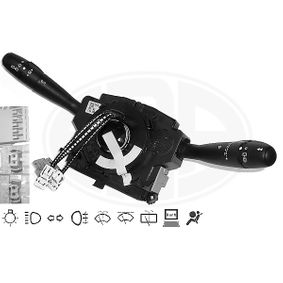 Steering Column Switch Number of connectors: 18, with board computer function, with high beam function, with indicator function, with light dimmer function, with rear fog light function, with rear wipe-wash function, with wipe interval function, with wipe-wash function with OEM Number 96 530 927XT