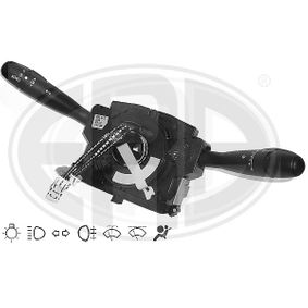Steering Column Switch Number of connectors: 18, with wipe-wash function, with indicator function, with light dimmer function, with rear fog light function, with high beam function, with wipe interval function with OEM Number 96605680XT