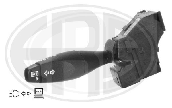 ERA  440322 Steering Column Switch Number of connectors: 10, with board computer function, with high beam function, with indicator function