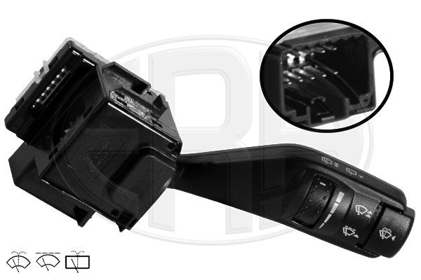 ERA  440356 Steering Column Switch Number of connectors: 12, with rear wipe-wash function, with wipe interval function, with wipe-wash function
