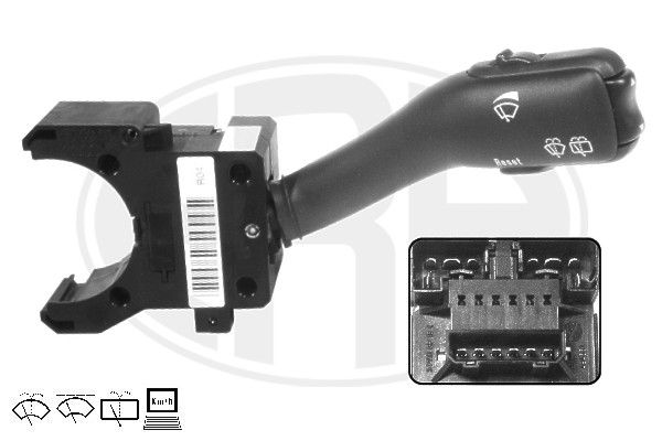 ERA  440393 Steering Column Switch Number of connectors: 14, with board computer function, with rear wipe-wash function, with wipe interval function, with wipe-wash function