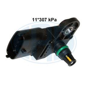 Sensore, Pressione collettore d'aspirazione N° raccordi: 4 con OEM Numero 51 792 301