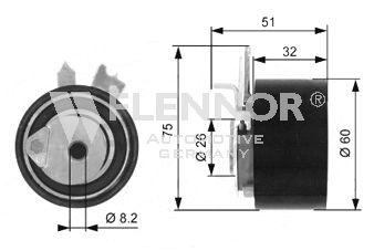 Spannrolle, Zahnriemen FLENNOR FS05091 Bewertung
