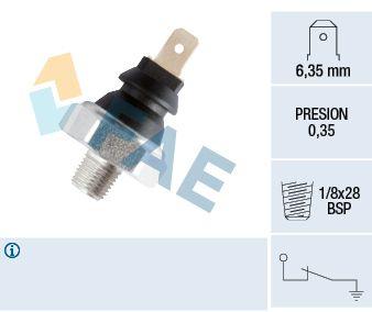 FAE  11610 Interruptor de control de la presión de aceite