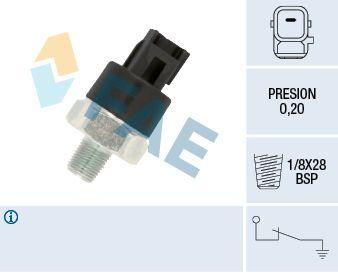 FAE  12550 Interruptor de control de la presión de aceite