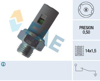 FAE  12636 Διακόπτης πίεσης λαδιού