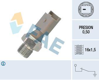 FAE  12640 Interruptor de control de la presión de aceite