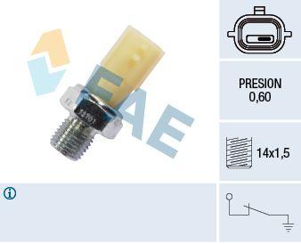 FAE  12701 Interruptor de control de la presión de aceite