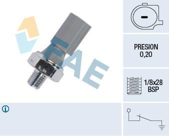 FAE  12830 Interruptor de control de la presión de aceite