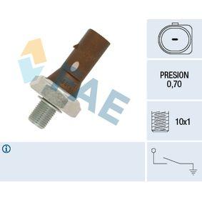 Öldruckschalter für VW TOURAN (1T1, 1T2) 1.9 TDI 105 PS ab Baujahr 08.2003 FAE Öldruckschalter (12890) für