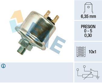 FAE  14740 Sensor, presión de aceite