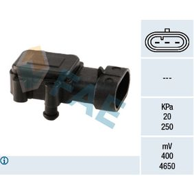 Sensor, Saugrohrdruck 15023 CLIO 2 (BB0/1/2, CB0/1/2) 1.5 dCi Bj 2014