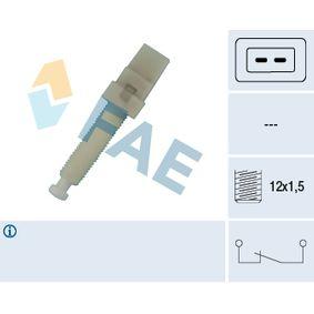 FAE Bremslichtschalter 24320 für AUDI 100 (44, 44Q, C3) 1.8 ab Baujahr 02.1986, 88 PS