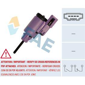 Interrupteur et Régulateur VW LUPO (6X1, 6E1) 1.4 TDI de Année 01.1999 75 CH: Interrupteur des feux de freins (24760) pour des FAE