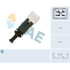 Bremslichtschalter Pol-Anzahl: 4-polig mit OEM-Nummer 25320-00QAA