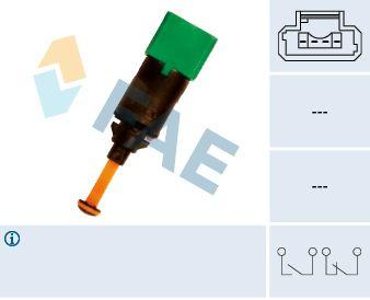 FAE  24899 Interruptor luces freno Número de polos: 4polos