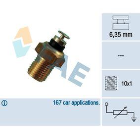 FAE Kühlmitteltemperatur-Sensor 32110 für AUDI 80 (81, 85, B2) 1.8 GTE quattro (85Q) ab Baujahr 03.1985, 110 PS