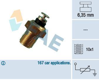 FAE  32110 Sensor, temperatura del refrigerante