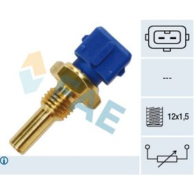 Sensore, Temperatura refrigerante con OEM Numero 13 62 1 284 397