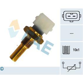 Sensore, Temperatura testa cilindro con OEM Numero 026906161