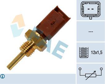 FAE  33704 Sensore, Temperatura refrigerante