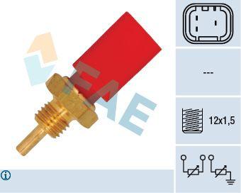 FAE  33725 Sensor, temperatura del refrigerante