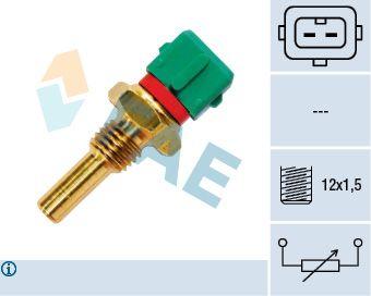 FAE  33770 Sensor, temperatura del refrigerante