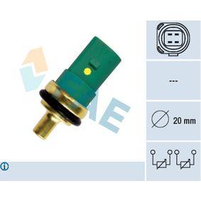 Kühlmitteltemperatursensor VW PASSAT Variant (3B6) 1.9 TDI 130 PS ab 11.2000 FAE Sensor, Kühlmitteltemperatur (33783) für