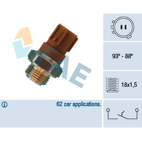 Термошалтер, вентилатор на радиатора 36440 Jazz 2 (GD_, GE3, GE2) 1.2 i-DSI (GD5, GE2) Г.П. 2004